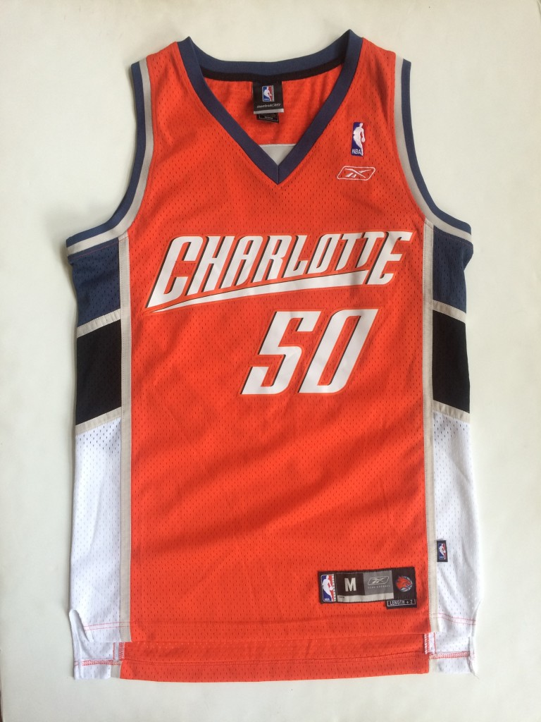 low priced c84c7 14df0 2004 Emeka Okafor Charlotte Bobcats Reebok NBA Jersey Size Medium