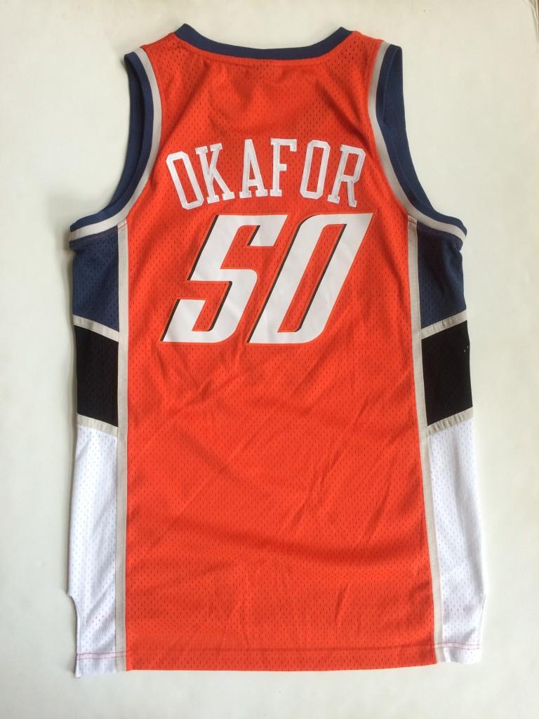 944bb112a59 2004 Emeka Okafor Charlotte Bobcats Reebok NBA Jersey Size Medium ...