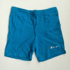 vintage champion shorts turquoise blue