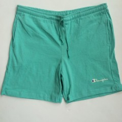 vintage champion shorts light aqua