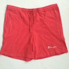 vintage champion brand athletic shorts early 90's salmon pink