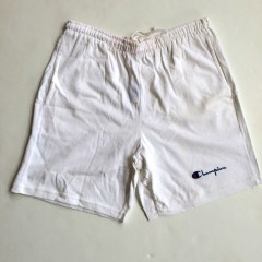 vintage champion shorts all white