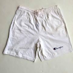 vintage champion shorts all white