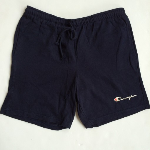 vintage early 90's late 80's champion athletic shorts size medium navy blue