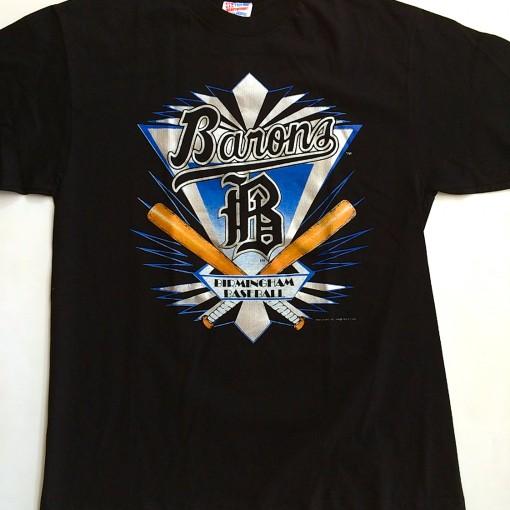 vintage 1994 birmingham barons #45 michael jordan t shirt