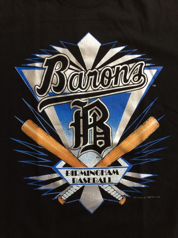 vintage Birmingham Barons micheal jordan  t shirt