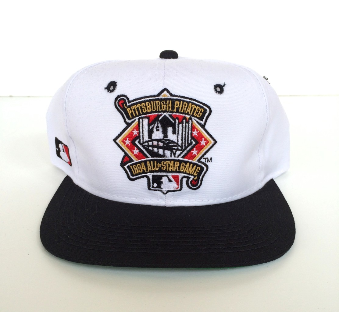 29873c8a640 vintage deadstock 1994 mlb all star game pittsburgh pirates sports  specialties mlb snapback hat