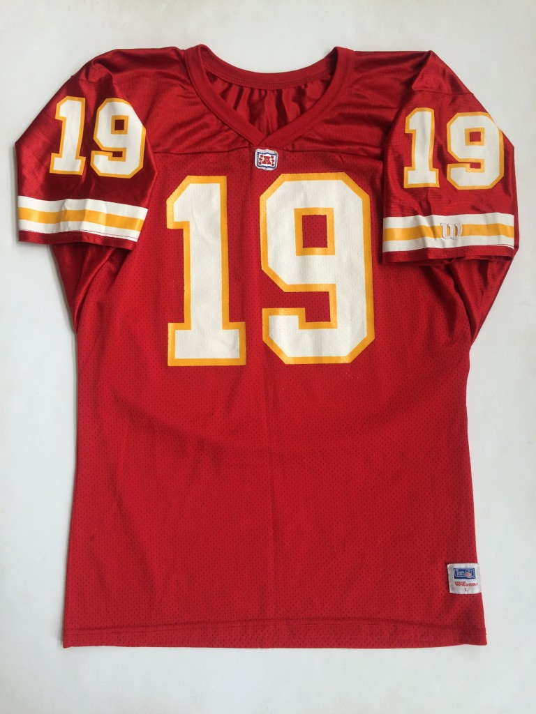 1993 Joe Montana Kansas City Chiefs Wilson NFL Jersey Size Large