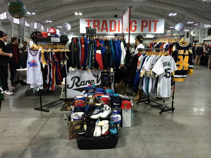 Rare vntg vintage clothing set up at sneaker con DC New York Bay Area Chicago Cleveland