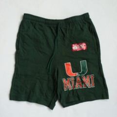 vintage miami hurricanes champion ncaa shorts vintage 90's