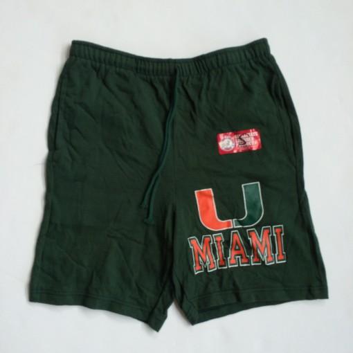 vintage miami hurricanes champion ncaa shorts vintage 90's