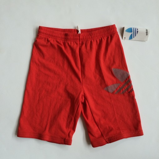 vintage 90's adidas shorts small medium red