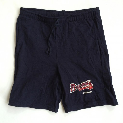 vintage champion atlanta braves mlb shorts 80's 90's