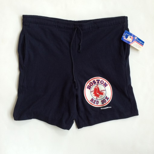 VINTAGE boston red sox champion mlb shorts 1989