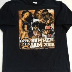 vintage summer jam 2008 hip hop concert t shirt