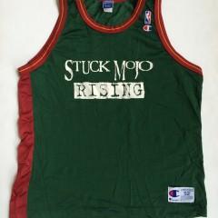 vintage stuck mojo rising champion nba jersey