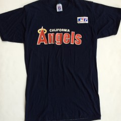 vintage California angels 90's mlb t shirt