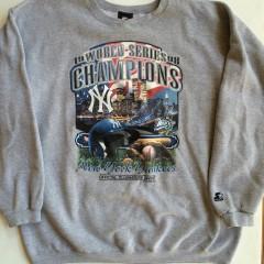 vintage 1998 new york yankees world champions crew neck