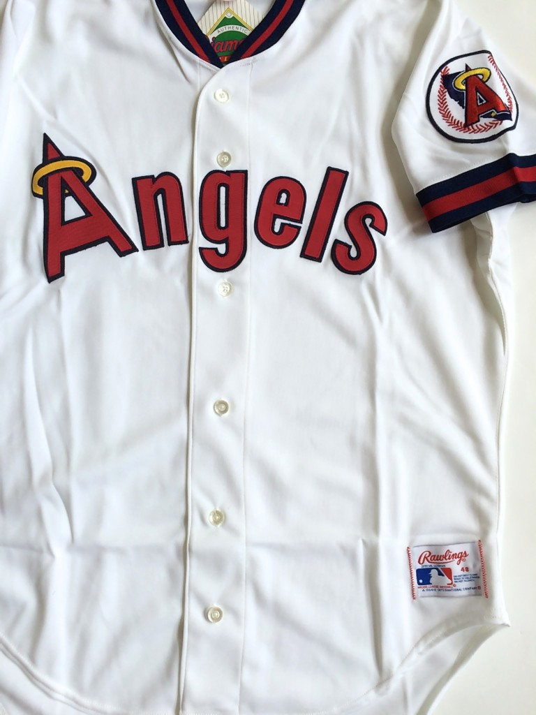 vintage california angels rawlings 1980 s mlb jersey size 48 205046075461