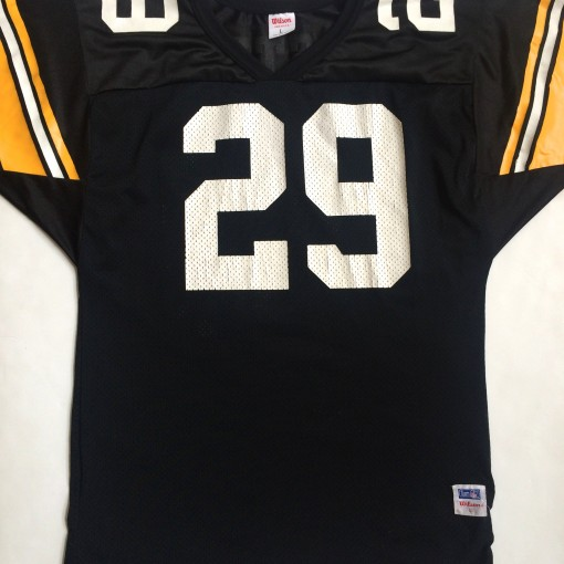 vintage barry foster pittsburgh steelers 90's wilson jersey