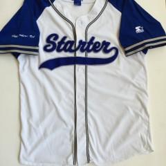 vintage 90's starter brand logo baseball jersey size large