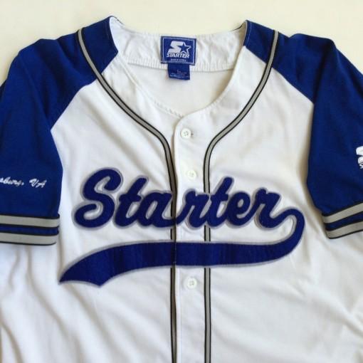 vintage starter brand baseball jersey size large