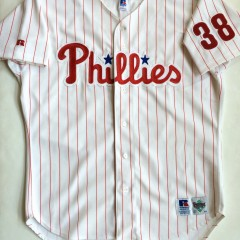 vintage philadelphia phillies curt schilling authentic mlb jersey