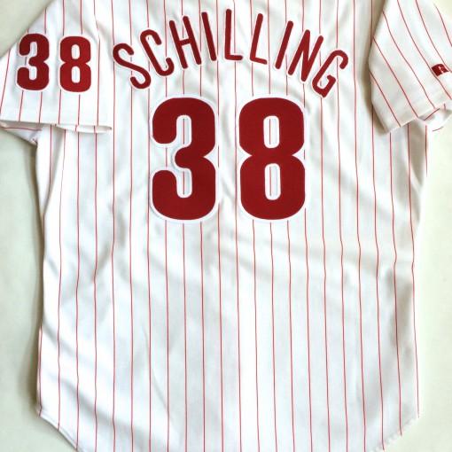 curt schilling phillies jersey