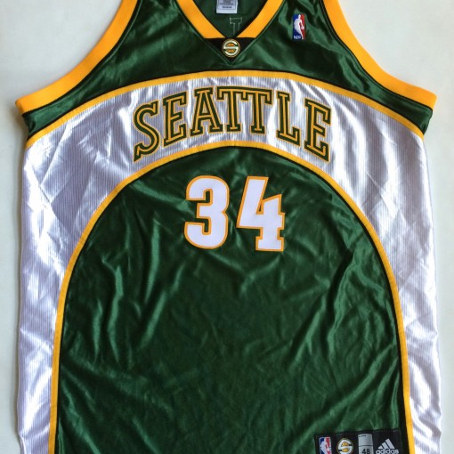 new product 3a770 6980e 2007 Ray Allen Seattle Supersonics Authentic NBA Jersey Size 48