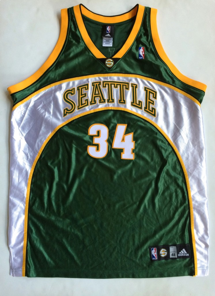 new product c4d41 2bf41 2007 Ray Allen Seattle Supersonics Authentic NBA Jersey Size 48