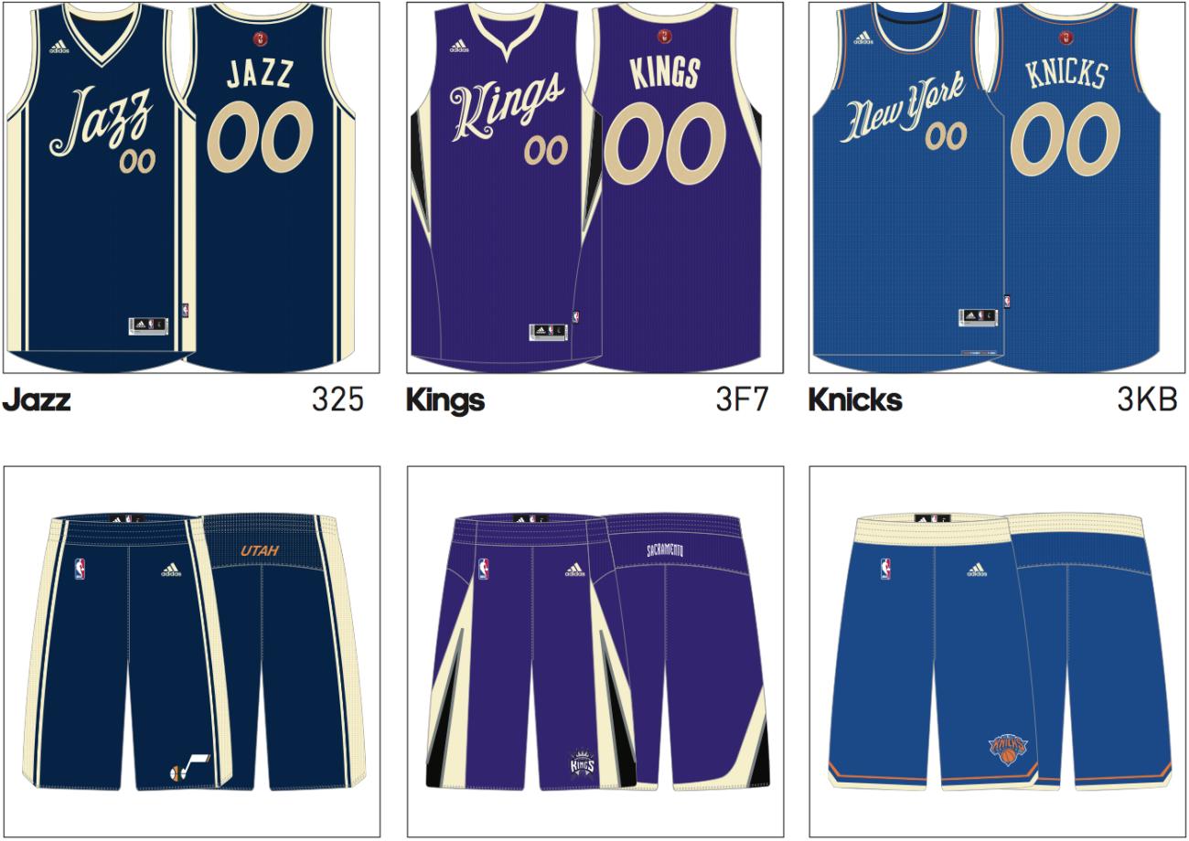 low priced b7539 007ef NBA Christmas Jerseys | Rare Vntg