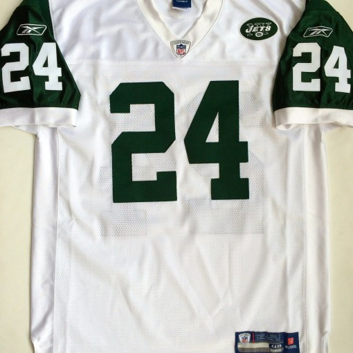 vintage darrell revis jets white rookie jersey