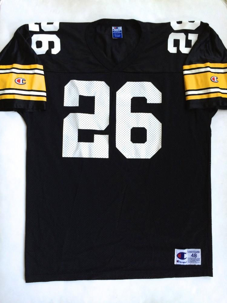 1994 Rod Woodson Pittsburgh Steelers Champion NFL Jersey Size 48 ... 244d7c5d9