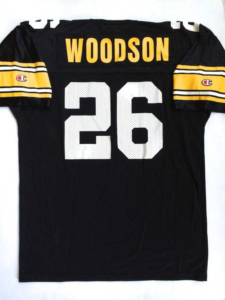 best service b431b 5342c 1994 Rod Woodson Pittsburgh Steelers Champion NFL Jersey Size 48