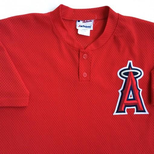 vintage Angels mesh authentic batting practice jersey