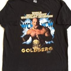 Vintage 1999 goldberg wcw wrestling t shirt xxl