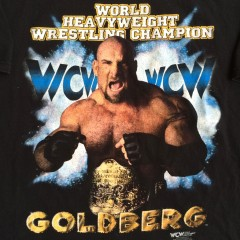 vintage goldberg wrestling t shirt