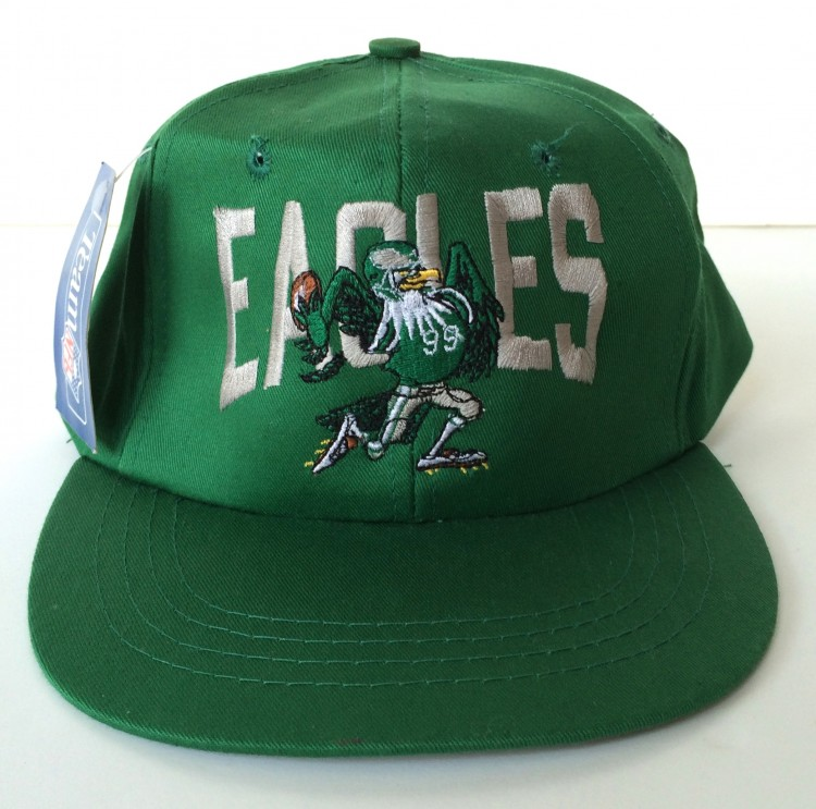 ec4c00194f4 Vintage 80 s Philadelphia Eagles Kelly Green NFL Snapback Hat