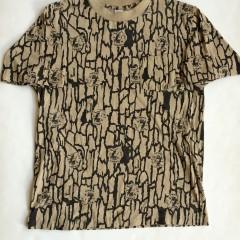 Vintage 1989 camel Cigarettes trebark t shirt tan large