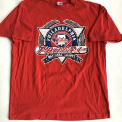 Vintage 1991 Philadelphia Phillies MLB T Shirt