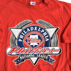1991 Philadelphia Phillies T shirt Large XL
