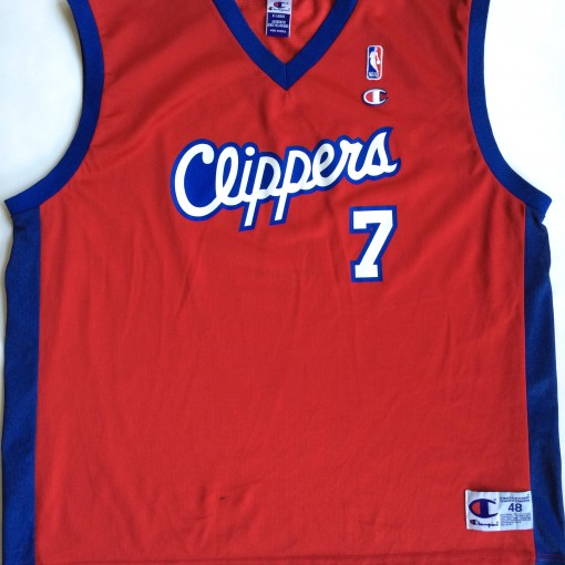 vintage los angeles clippers Champion nba jersey size 48