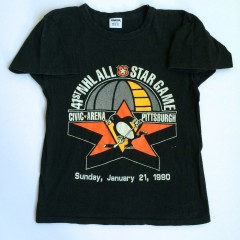 vintage 1990 nhl all star game t shirt starter