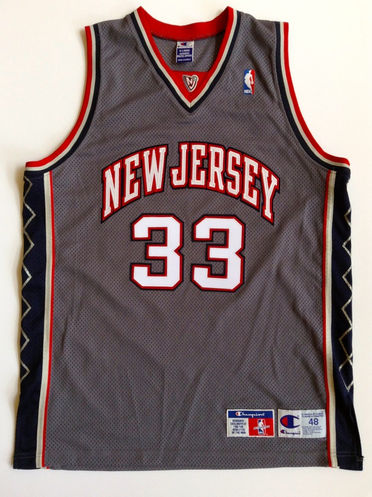 vintage stephon marbury new jersey nets authentic nba jersey size 48 grey  alternate 6c9461848