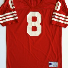 vintage steve young san Francisco 49ers champion jersey size 44 large