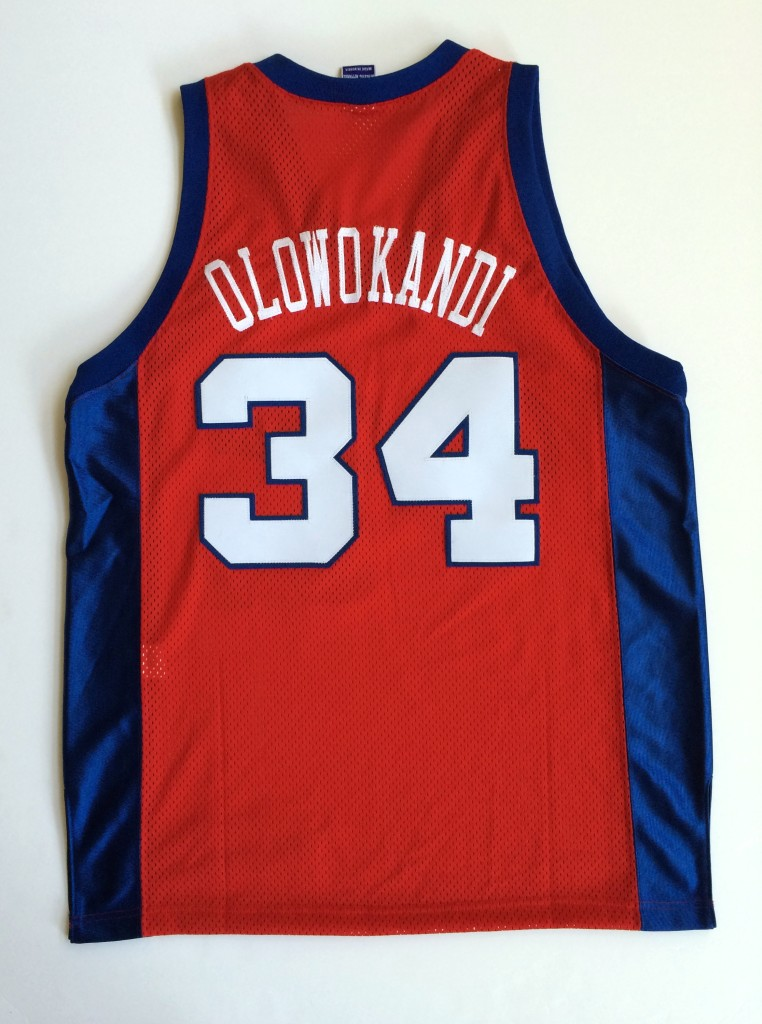 vintage throwback los angeles clippers michael olowokandi jersey size 44 bdbcf3320