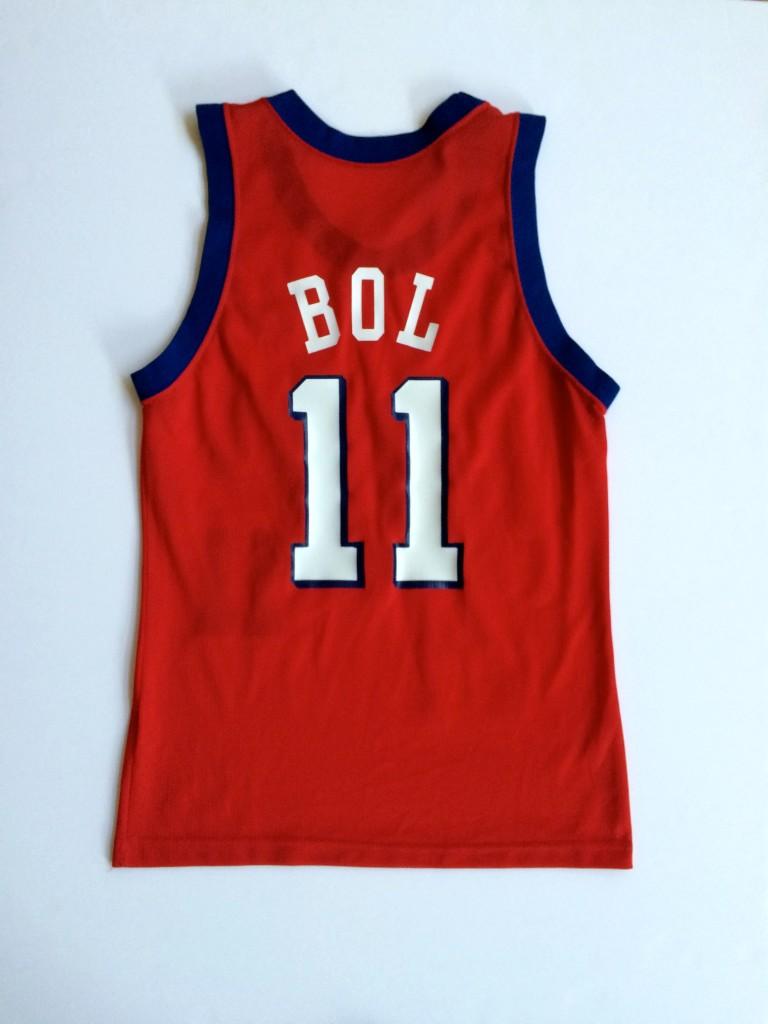 Vintage Manute Philadelphia Sixers 90 s Throwback jersey original size 40 d4aaa142d