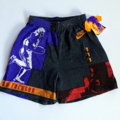 vintage bo jackson nike cross training 90's deadstock shorts