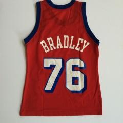 vintage shawn bradley philadelphia sixers 76ers jersey