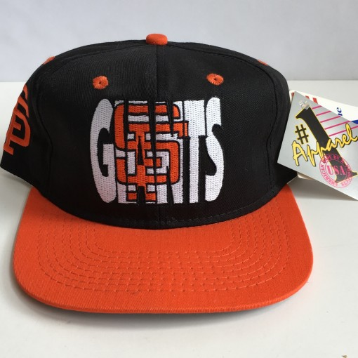 vintage san francisco giants mlb ghost snapback hat